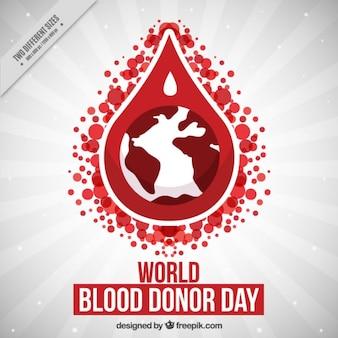 Fondo con una fota de sangre y la tierra