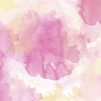 Fondo con una textura de acuarela rosa