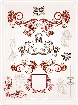 Fondo cosecha ornamento alfombra patrón