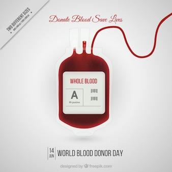 Fondo de  donar sangre salva vidas