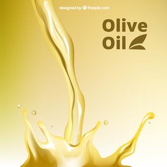 Fondo de aceite de oliva