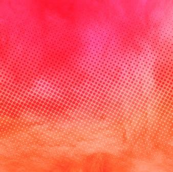 Fondo de acuarela multicolor, textura punteada