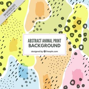 Fondo de animal abstracto salvaje