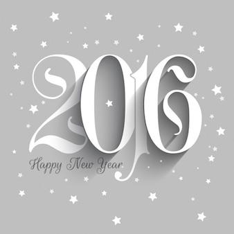Fondo de año nuevo 2016 estrellado