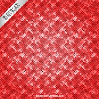 Fondo de azulejos rojos