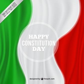 Fondo de bandera de México del día de la constitución