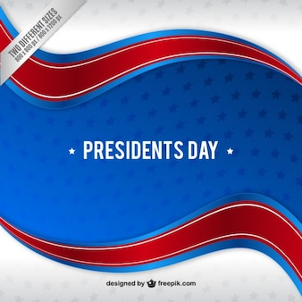 Fondo de bandera del día del presidente