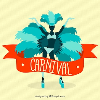 Fondo de carnaval de brasil
