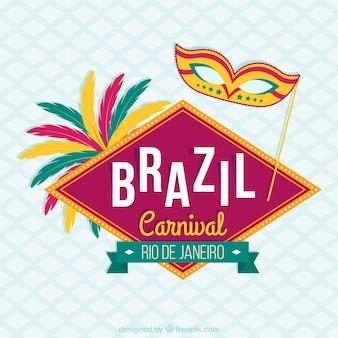 Fondo de carnaval de Rio de Janeiro