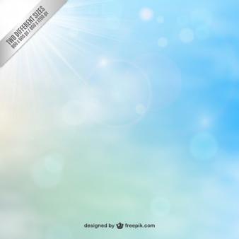 Fondo de cielo con luz de sol