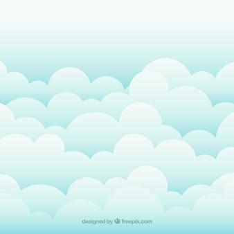 Fondo de cielo de nubes