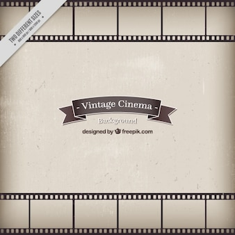 Fondo de cine en estilo vintage