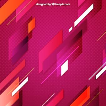 Fondo de color con formas abstractas