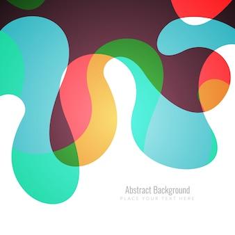 Fondo de colores con formas abstractas