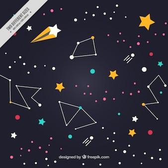 Fondo de constelaciones