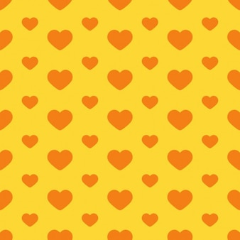 Fondo de corazones vintage