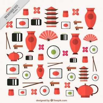 Fondo de cultura japonesa