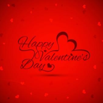 Fondo de Día de San Valentín de color rojo