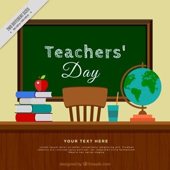 Fondo de escritorio del día del profesor