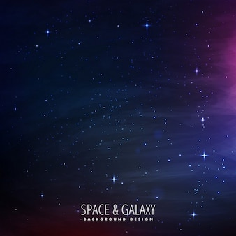 Fondo de espacio repleto de estrellas