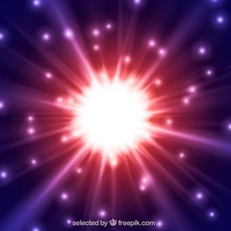 Fondo de explosión de la estrella
