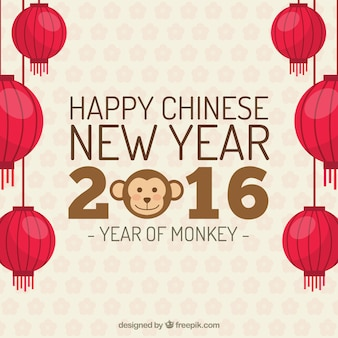 Fondo de feliz año nuevo chino