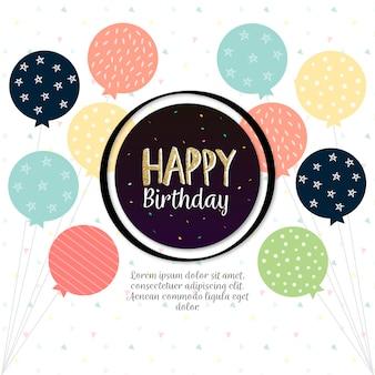 Fondo de feliz cumpleaños