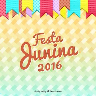 Fondo de fiesta junina de 2016