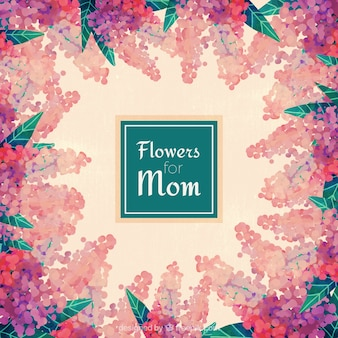 Fondo de Flores para mamá