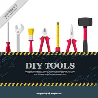 Fondo de herramientas