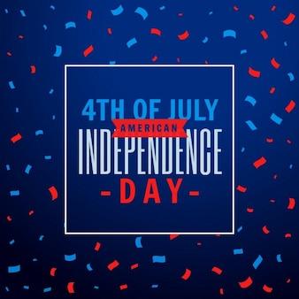 Fondo de la fiesta de celebración del 4 de julio