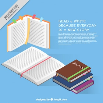 Fondo de leer y escribir