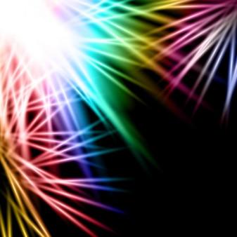 Fondo de luces coloridas