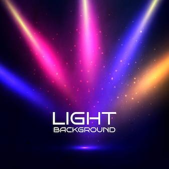 Fondo de luces de colores