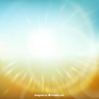 Fondo de luz del sol