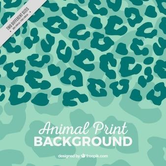 Fondo de manchas de animal pintadas a mano