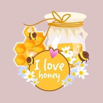 Fondo de me gusta la miel