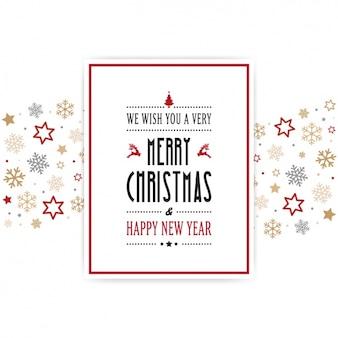 Fondo de navidad bonito con detalles rojos