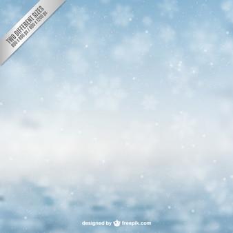 Fondo de Navidad Nevado