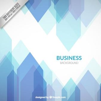 Fondo de negocios en tonos azules