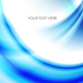 Fondo de ondas azules y blancas