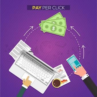 Fondo de pago por clic