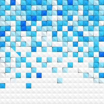 Fondo de papel azul abstracto