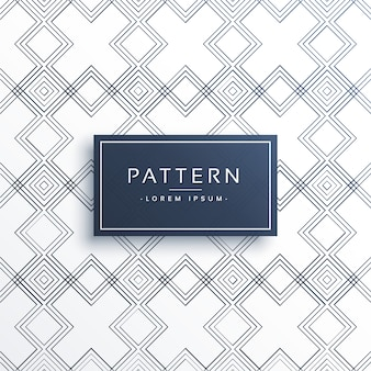 Fondo de patrones minimal con formas geométricas