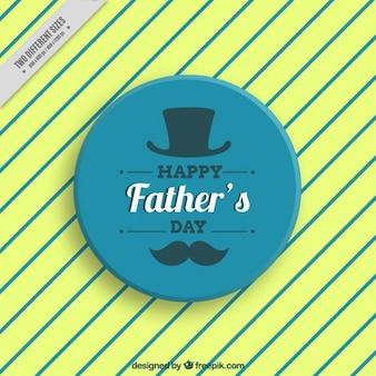Fondo de rayas del día del padre