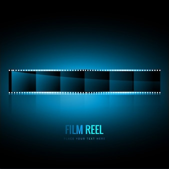 Fondo de rollo de película