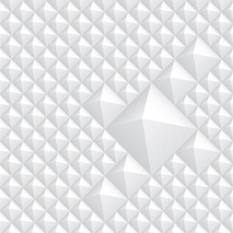 Fondo de rombos blancos abstracto