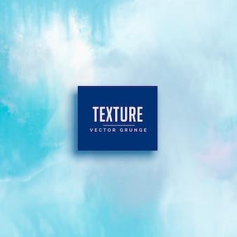 Fondo de textura de acuarela de color azul claro