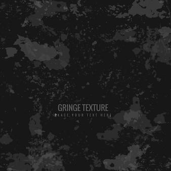 Fondo de textura grunge en color negro