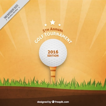 Fondo de torneo de golf